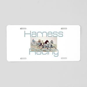 Harness Racing Aluminum License Plate
