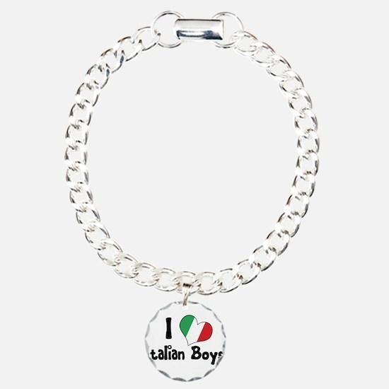 I Heart (Love) Italian Boys Bracelet