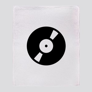 Retro Classic Vinyl Record Throw Blanket