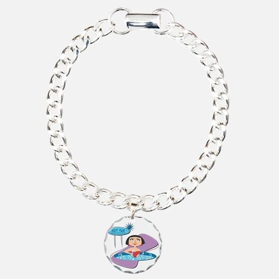 Retro Hot Tub Girl Bracelet