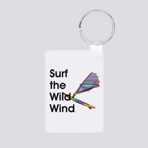 TOP Windsurfing Aluminum Photo Keychain