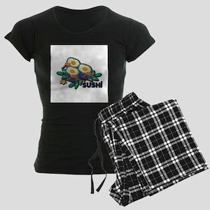 Love Sushi Women's Dark Pajamas