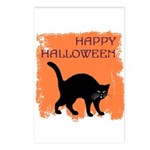 Halloween Black Cat Postcards (Package of 8)