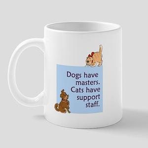 Dogs vs. Cats Mug