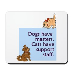 Dogs vs. Cats Mousepad