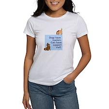 Dogs vs. Cats Women's T-Shirt