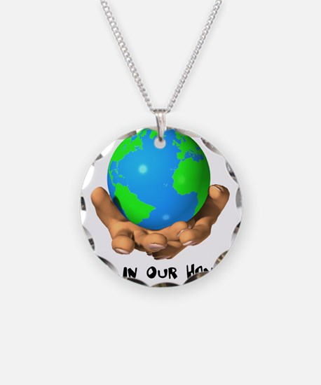 Earth In Our Hands Necklace