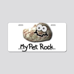 My Pet Rock Aluminum License Plate