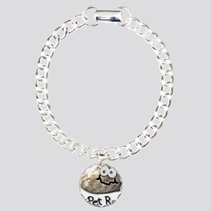 My Pet Rock Charm Bracelet, One Charm