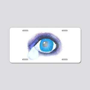 Tear Drop Eye Aluminum License Plate