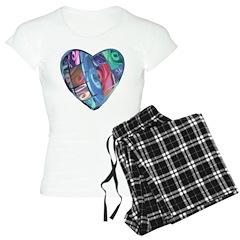 Rose Heart Pajamas