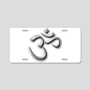 Ohm Aluminum License Plate
