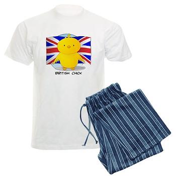 British Chick Men's Light Pajamas