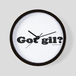 Got gil?  Wall Clock