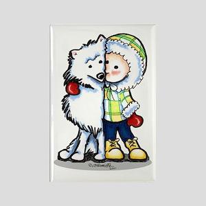 Eskimo Kisses Rectangle Magnet (10 pack)