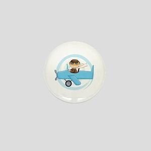 Boy Pilot Mini Button
