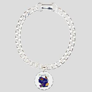 Wisconsin state Charm Bracelet, One Charm