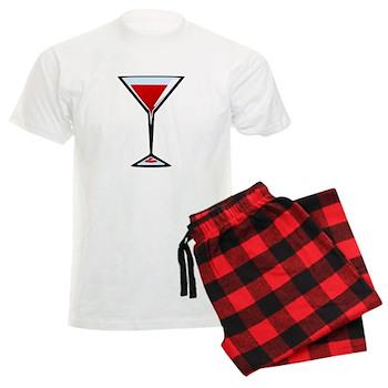 Vampire Martini Men's Light Pajamas