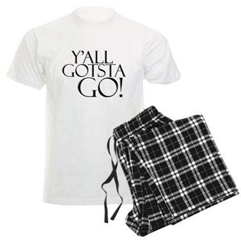 Y'all Gotsta Go! Men's Light Pajamas