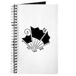 Butterfly-shaped fans Journal
