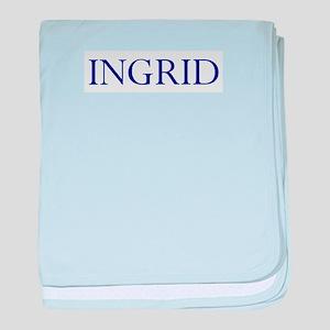 Ingrid baby blanket