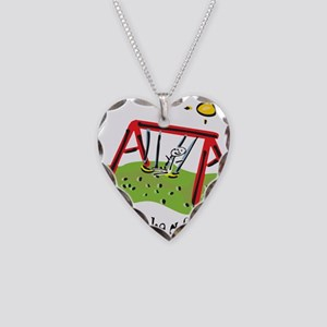 Proud to be a Swinger! Necklace Heart Charm