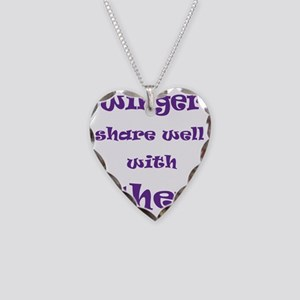 Swingers Share Well With Othe Necklace Heart Charm