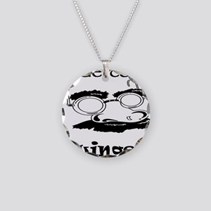 Undercover Swinger! Necklace Circle Charm