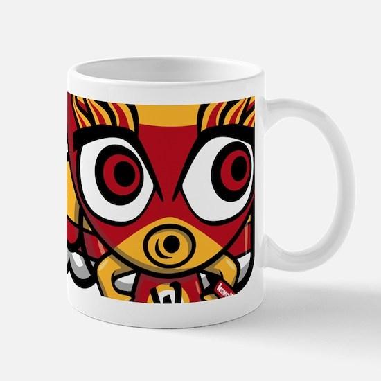Wrestler Mascot Mug