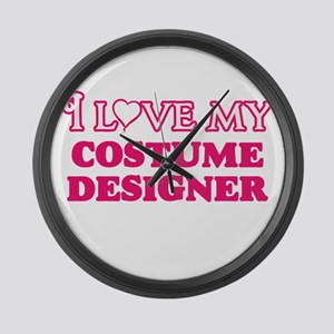 I love my Costume Designer Large Wall Clock
