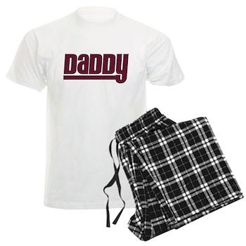 Daddy - Red Men's Light Pajamas