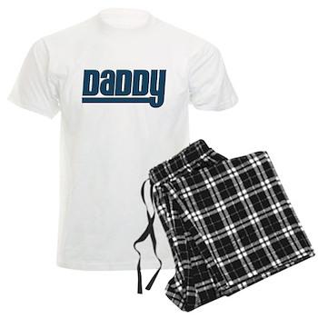 Daddy - Blue Men's Light Pajamas