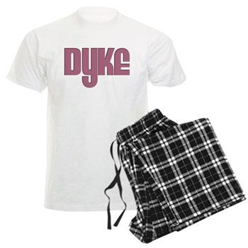 Pink Dyke Men's Light Pajamas