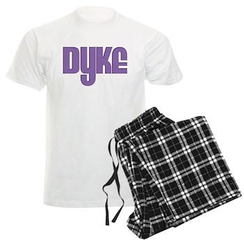 Purple Dyke Men's Light Pajamas