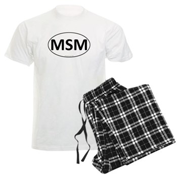 MSM Euro Oval Men's Light Pajamas