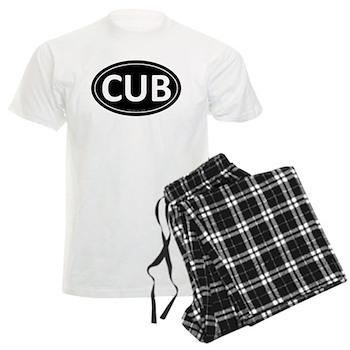 CUB Black Euro Oval Men's Light Pajamas
