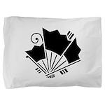 Butterfly-shaped fans Pillow Sham
