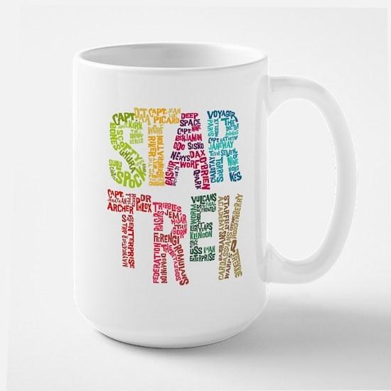Star Trek:Names Large Mug