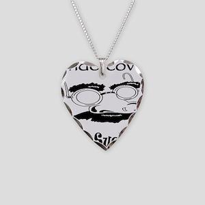Undercover Cock Sucker Necklace Heart Charm