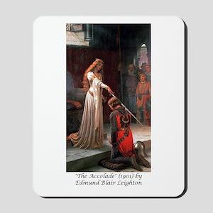 "Edmund Blair Leighton's ""The Accolade"" Mousepad"