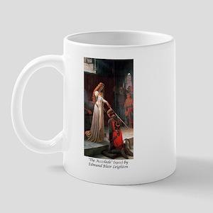 "Edmund Blair Leighton's ""The Accolade"" Mug"