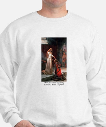 "Edmund Blair Leighton's ""The Accolade"" Sweatshirt"