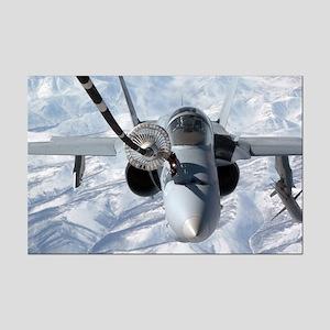 F-18 Over Alaska