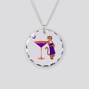 Clemsontini Necklace Circle Charm