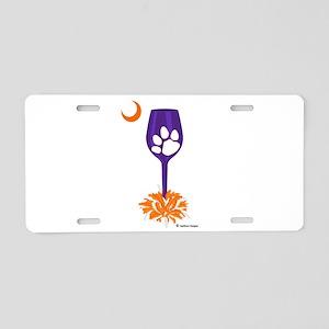 Tipsy Tiger Aluminum License Plate