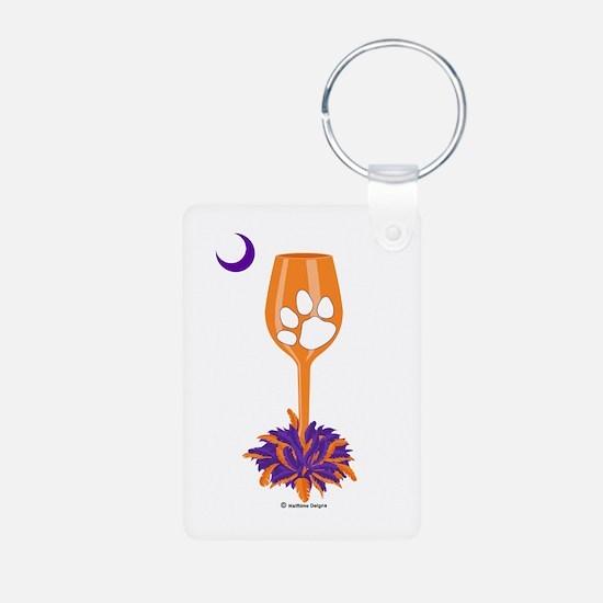 Tipsy Tiger (Orange) Keychains