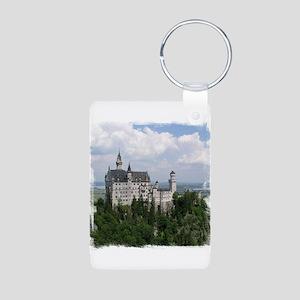 Neuschwanstein Castle Aluminum Photo Keychain