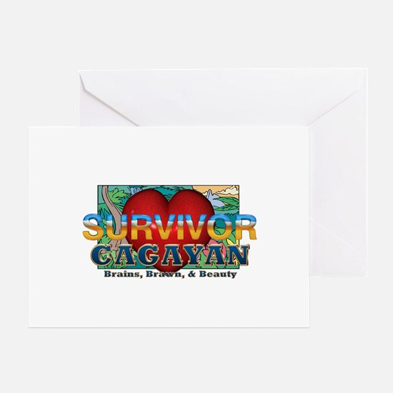 Survivor Cagayan Greeting Card