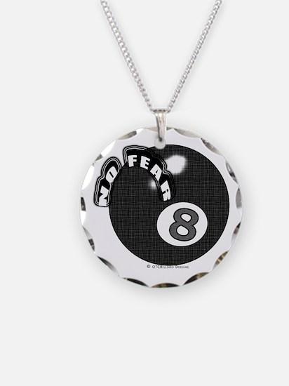 No Fear 8 Ball Necklace