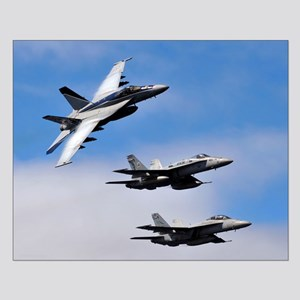 F-18 Small Poster